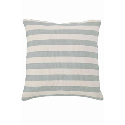 Dash and Albert Rugs Fresh American Trimaran Stripe Polypropylene Pillow