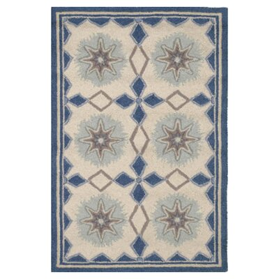 Dash and Albert Rugs Hooked Navy Star Rug