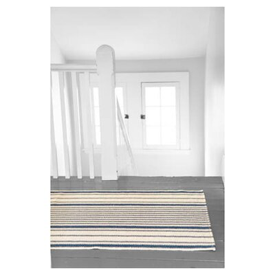Dash and Albert Rugs Woven Mattress Ticking Rug