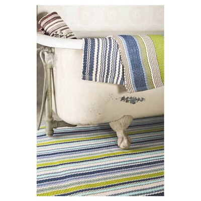 Dash and Albert Rugs Woven Pond Stripe Indoor/Outdoor Rug
