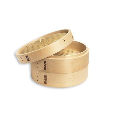 Fox Run Craftsmen Bamboo Steamer (Set of 3)