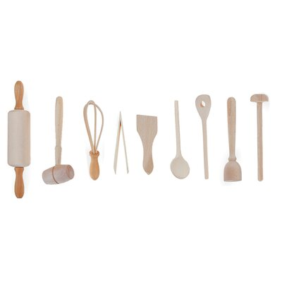 Fox Run Craftsmen 9-Piece Kids Kitchen Set