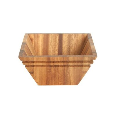 "Fox Run Craftsmen 6.06"" Square Salad Bowl"