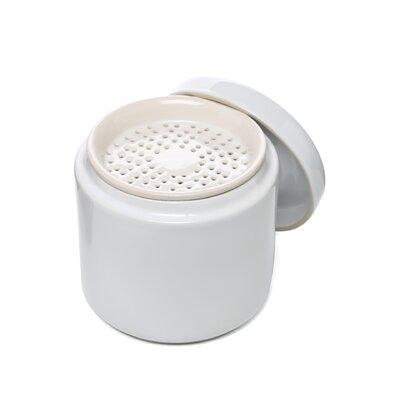 Fox Run Craftsmen Grease Container in White