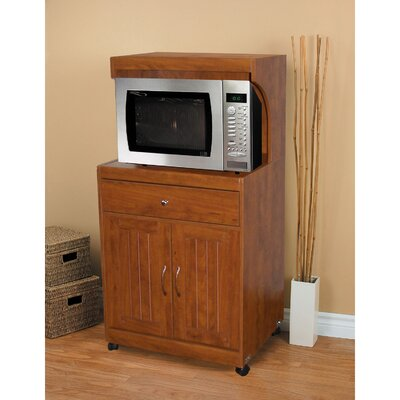 Hazelwood Home Kevin Microwave Cart