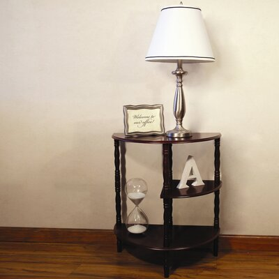 Hazelwood Home Multi Tiered End Table