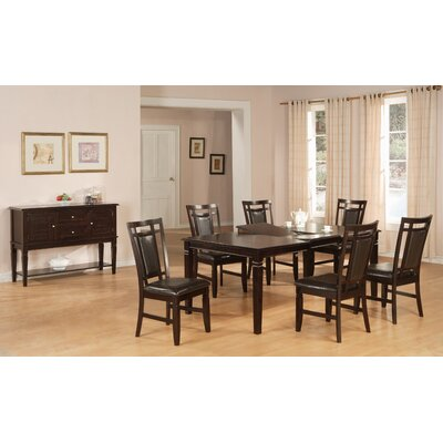 Hazelwood Home Hazelwood Home 7 Piece Dining Set