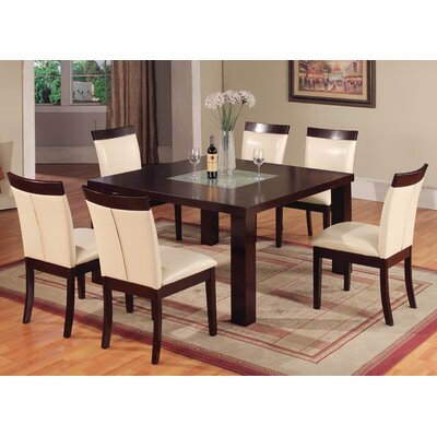 Hazelwood Home Hazelwood Home 7 Piece Counter Height Dining Set