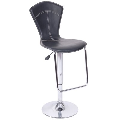 "Hazelwood Home Hazelwood Home 21"" Two Adjustable Faux Leather Bar Stools"