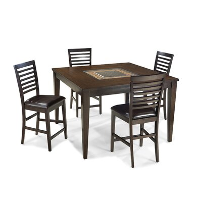 Imagio Home by Intercon Kashi Pub Table with Optional Stools