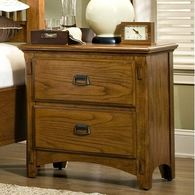 Mission Style Nightstand Wayfair