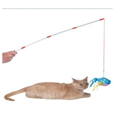ABC Pet Fish Pole Cat Toy