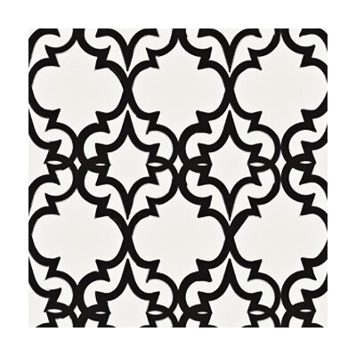 <strong>Kreme LLC</strong> Handcrafted Painted Gate Geometric Wallpaper