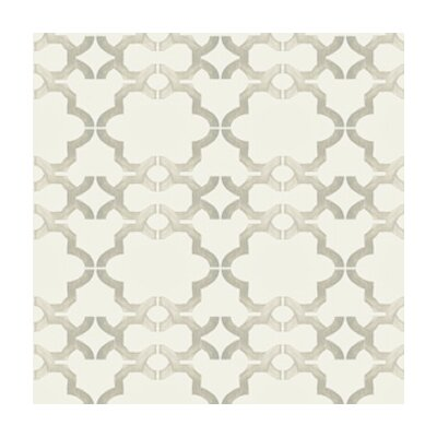 Kreme LLC Handcrafted Acorn Gate Geometric Wallpaper
