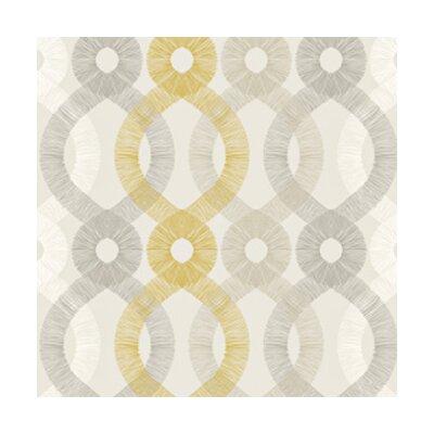 Kreme LLC Handcrafted Spiro Geometric Wallpaper