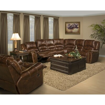Parker Living Motion Neptune Leather Reclining Sectional