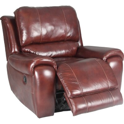 Parker Living Motion Titan Leather Chaise  Recliner Chair