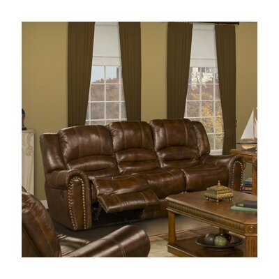Motion Neptune Leather Reclining Sofa