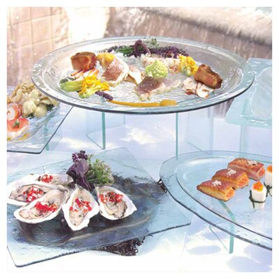 """Front Of The House Arctic 24"""" Oval Platter"""
