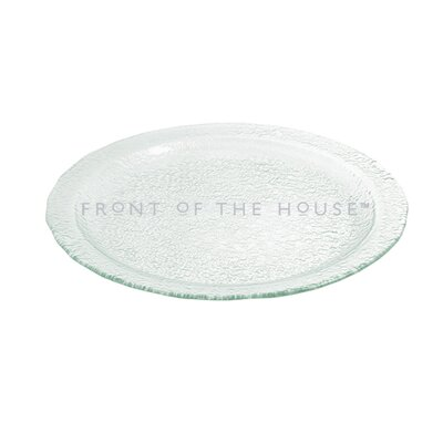 "Front Of The House Arctic 20"" Round Platter"