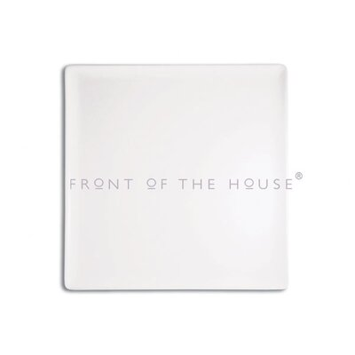 "Front Of The House Mod 15"" Square Platter"