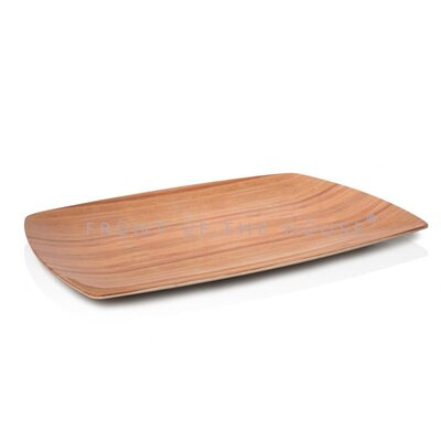 "Front Of The House Platewise 16"" Rectangle Platter"