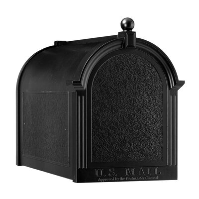 Whitehall Products Streetside Post-Mounted Mailbox