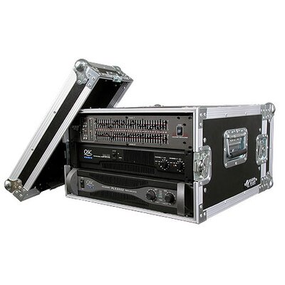 Road Ready Cases Deluxe Amplifier Rack System Case