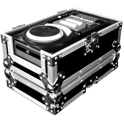 Road Ready Cases DJ Universal Case for Top and Front Loading CD Players Measuring