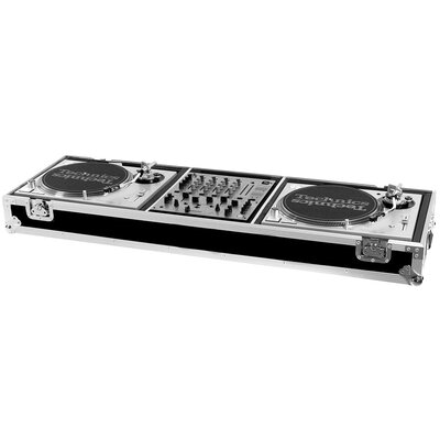 Two Turntables / Pioneer DJM500 or DJM600 Mixer or Other Mixer with Wheels