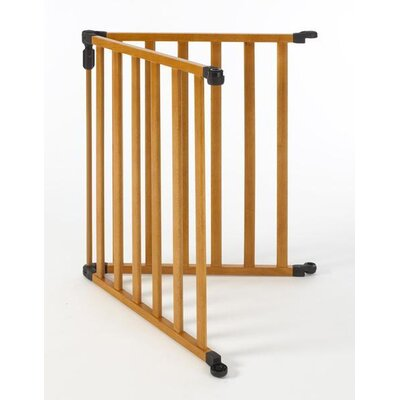 North States 3-in-1 Wood Superyard Gate