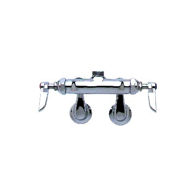Deck Mount Centerset Faucets with Swing Gooseneck Spout