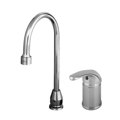 T&S Brass Widespread Sink Faucet with Single Lever Handle