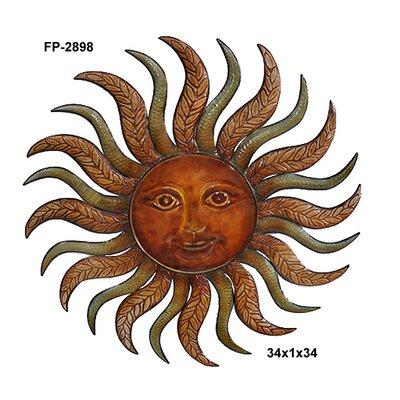 metal sun wall art wayfair