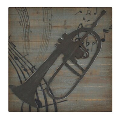 Cheungs Trumpet Wall Decor
