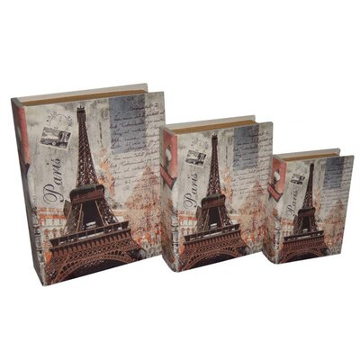 Cheungs Paris / Eiffel Tower Book Box