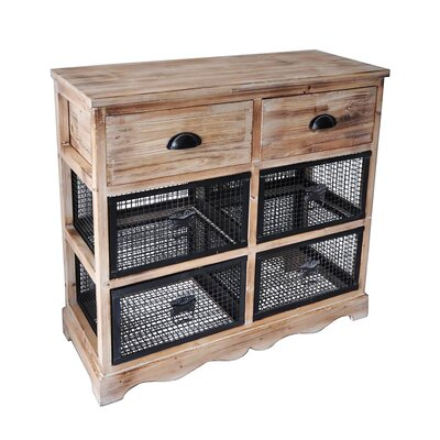 Cheungs 6 Drawer Wire Cabinet