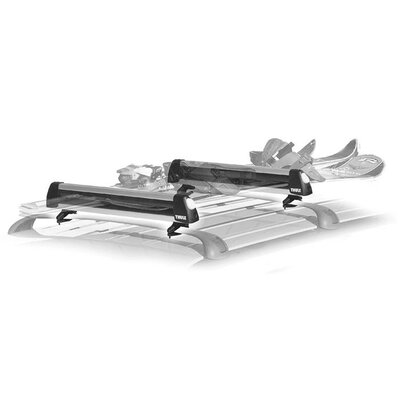 Thule Universal Flat Top 6 Ski and Snowboard Rack