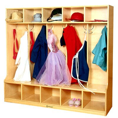 "A+ Child Supply 47.5"" Coat Locker"