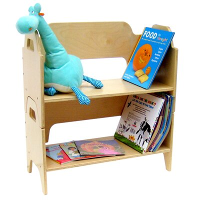 A+ Child Supply Two Tier Bookshelf