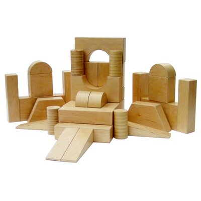 A+ Child Supply 34 Pieces Hollow Block Set