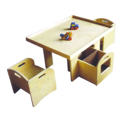 A+ Child Supply Kids' 3 Piece Table and Chair Set