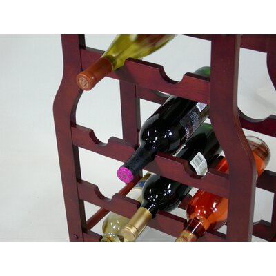 Proman Products Apachi 11 Bottle Wine Rack
