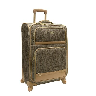 "Oleg Cassini Boutique 24"" Expandable Spinner Suitcase"