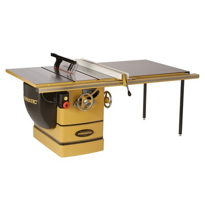 "Powermatic PM3000 7.5 HP 3 Phase 14"" Table Saw with 50"" Accu-Fence System"