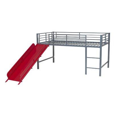 DHP Fantasy Junior Twin Loft Bed with Slide