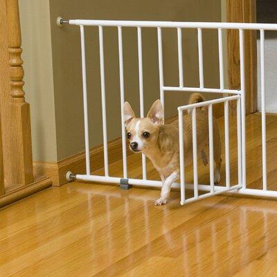 Carlson Pet Design Studio Walk Through Pet Gate With Small