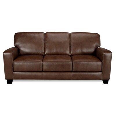 World Class Furniture Jade Leather Sofa | Wayfair