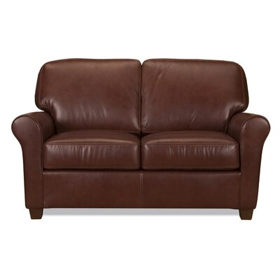 Kathy Leather Loveseat