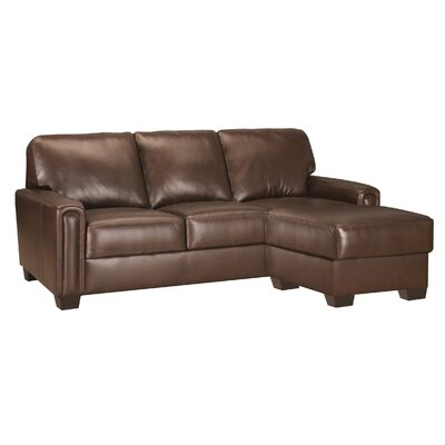 Mathew Leather Sectional